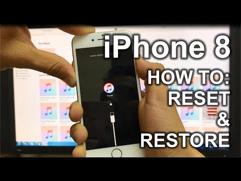 How To Reset & Restore your Apple iPhone 8 - Factory Reset