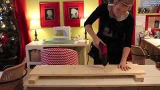 Diy Simple Cubby Bench