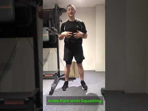 Tips for Knee Pain caused by squatting