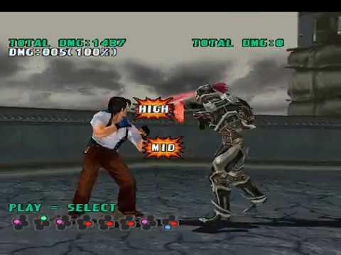 Tekken 3 Yoshimitsu Combos Practice Youtube