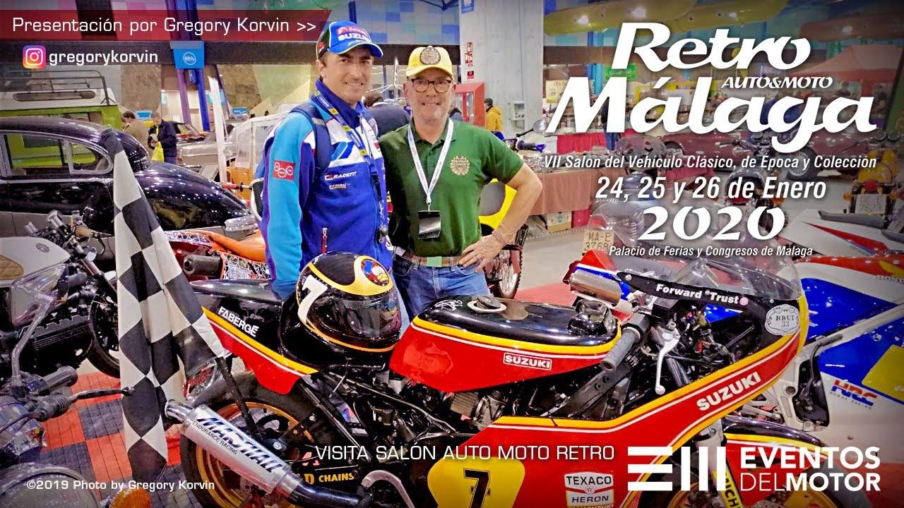 Retro Málaga Auto Moto I VII Salón del Vehículo Clásico, de Época y Colección I Resumen 2020