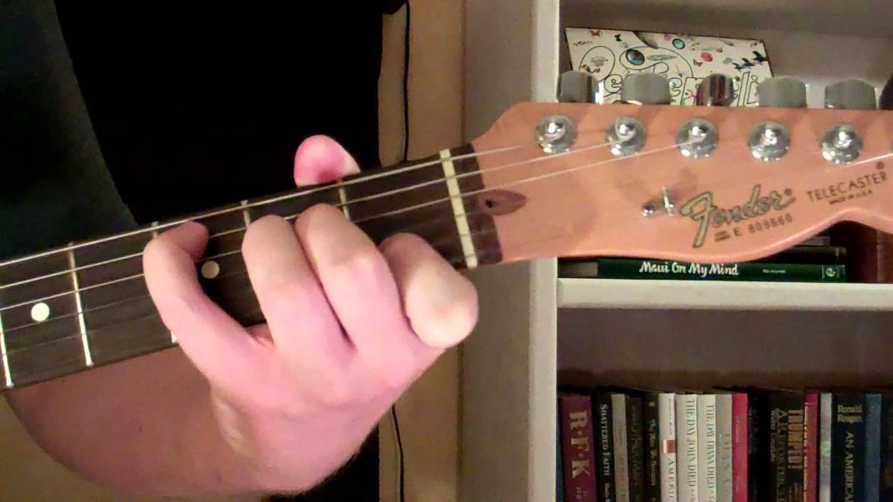 How To Play The C6 Chord On Guitar C Sixth 6th Youtube