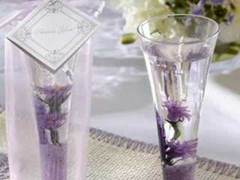 Wedding Candle Favors Youtube