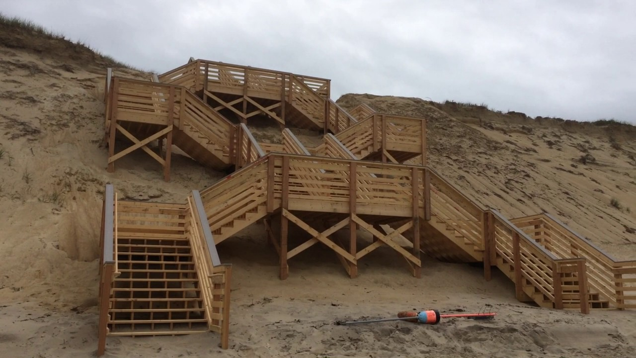 Marconi Beach Re Opens With New Stairs