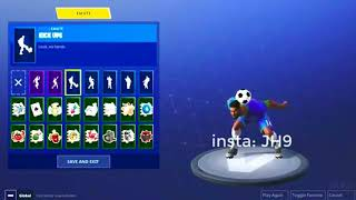 NEW GESTS AND BAILES IN FORTNITE WORLD RUSSIA 2018 ? NEW SKIN