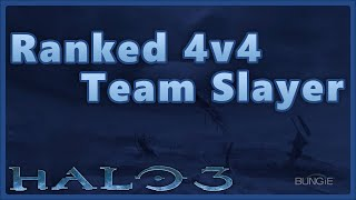 We try to relive our childhood and play some ranked 4v4 team slayer!