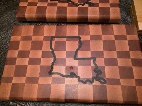 Epoxy Inlay on a Cutting Board