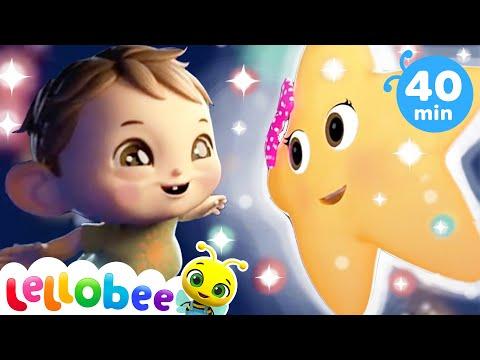 Twinkle Twinkle Little Star | Baby Songs | Nursery Rhymes & Kids Songs | Learn With Little Baby Bum