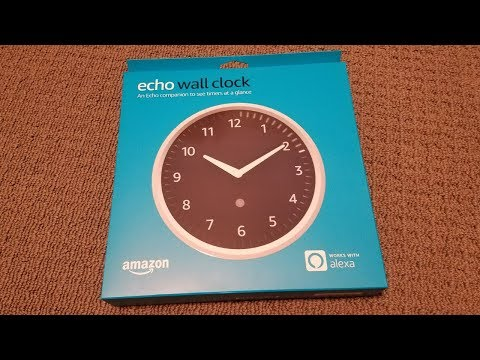 Taking a look at the new Amazon Echo Wall Clock!