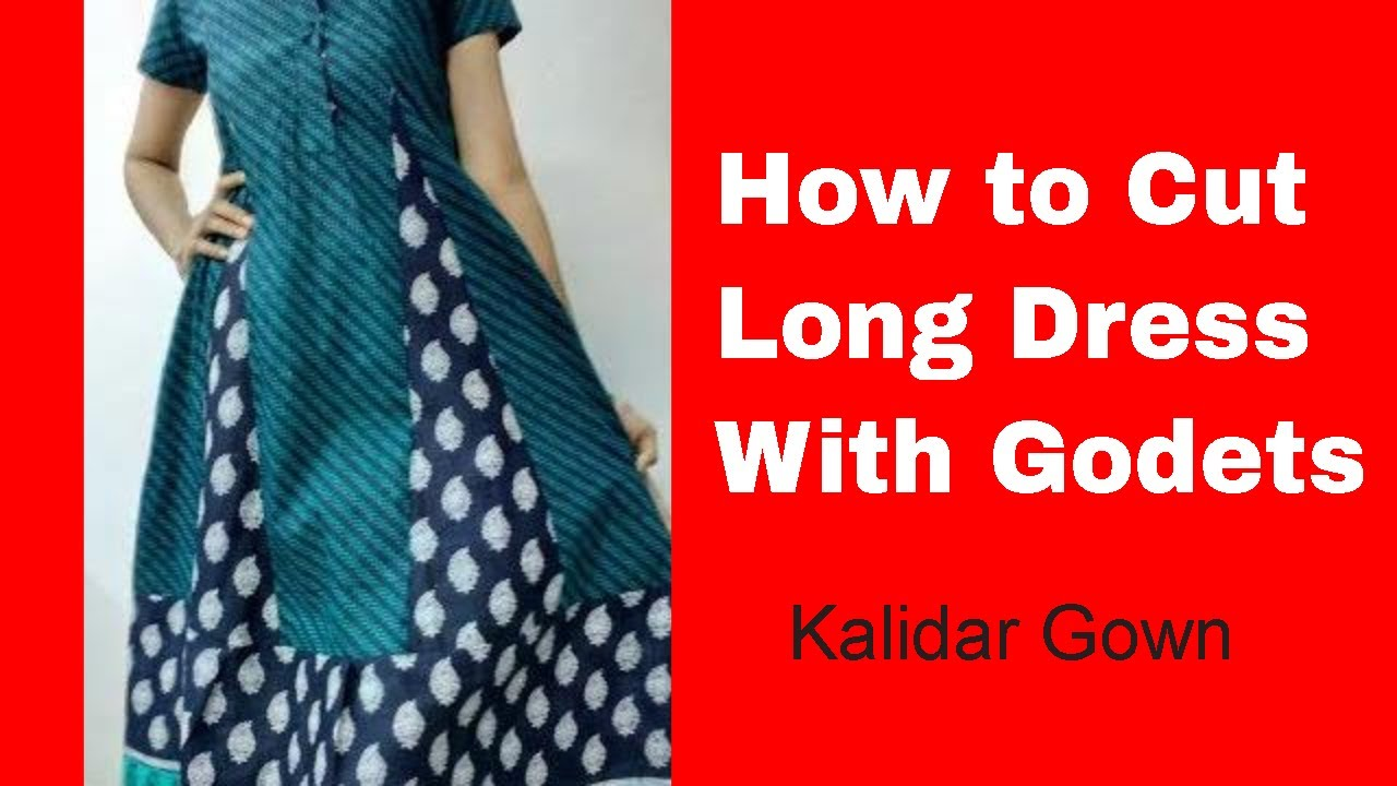 Kalidar Kurti Cutting Stitching Make Anarkali Maxi Gown