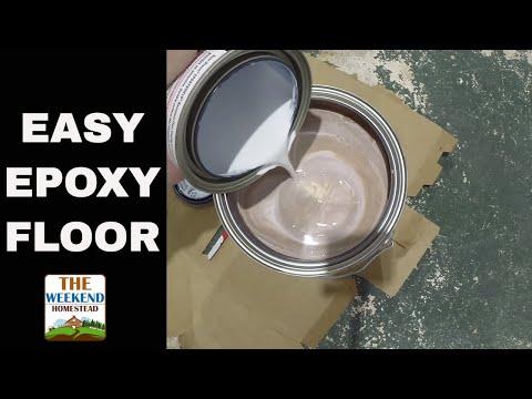 Easy DIY Epoxy Floor – Great Weekend Project! – DIY – HOW TO!