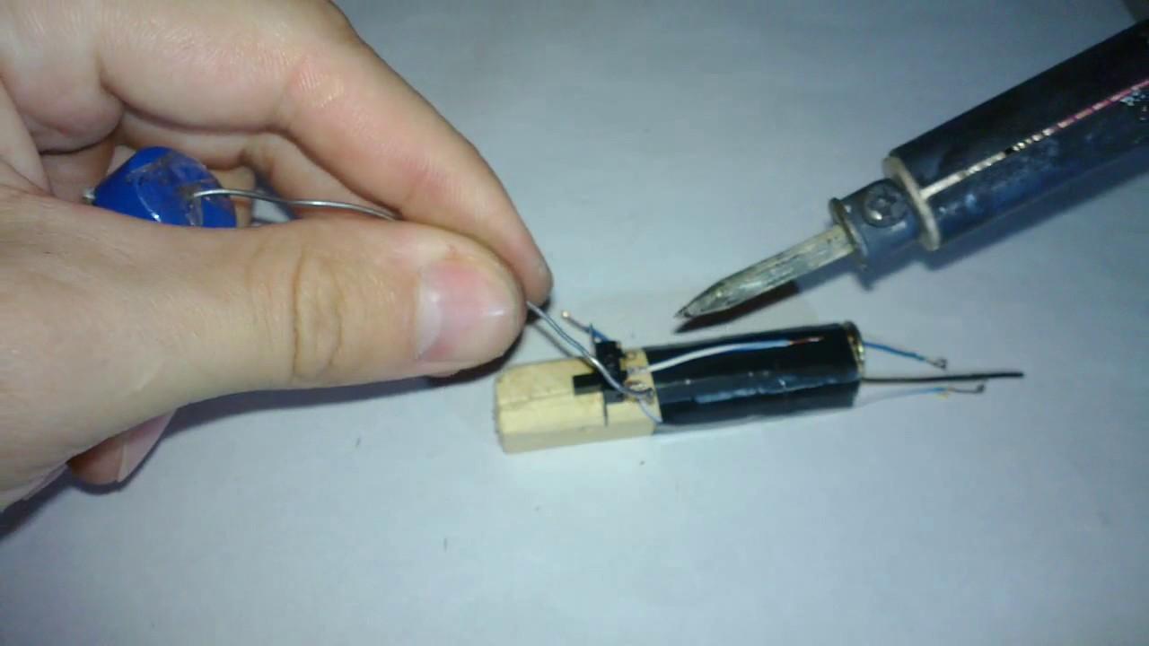 USB паяльник своими руками