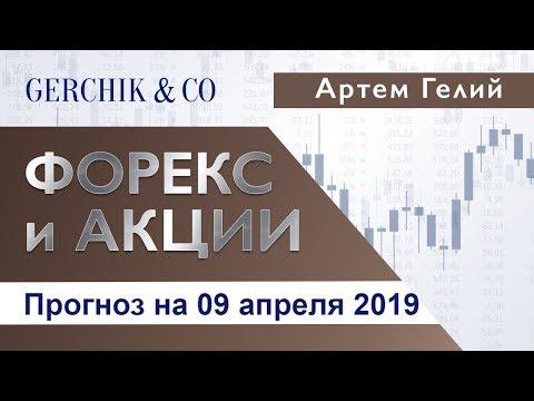 ≡ Технический анализ валют и акций от Артёма Гелий на 09 апреля 2019.