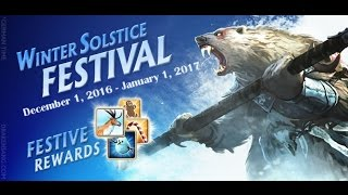 Drakensang Online Winter event (secrets & random)