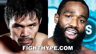 (WOW!) PACQUIAO SIGNS WITH AL HAYMON; ADRIEN BRONER SHOWDOWN IN THE WORKS FOR JANUARY 2019
