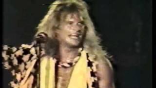 VAN HALEN - Romeo Delight / Unchained / Drum Solo (Buenos Aires 1983)