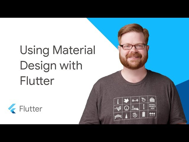 Using Material Design with Flutter