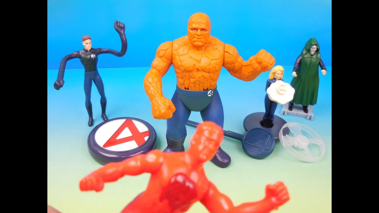 Download 2005 THE FANTASTIC 4 SET OF 6 BURGER KING KIDS MEAL MOVIE TOYS VIDEO REVIEW (UK IMPORT)