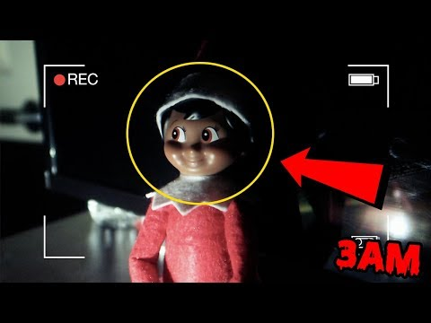 DONT PLAY WITH ELF ON THE SHELF AT 3AM | ELF ON THE SHELF CAUGHT MOVING ON CAMERA [MUST WATCH]