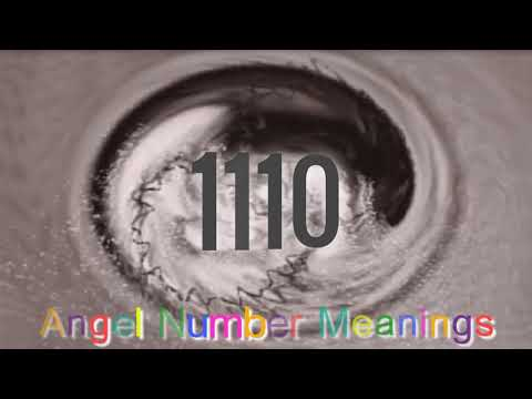Angel Number 1110; What's The Meaning Of 1110?