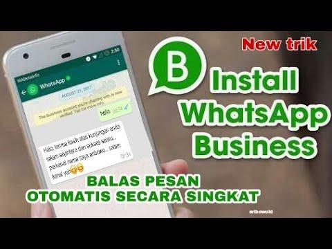 Cara Membuat Whatsapp Bisnis How To Create A Business Whatsapp Youtube