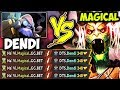 When Dendi Tinker Meets NaVi Magical On Ranked Game - MMR Is Not Just A Number??