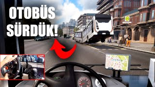 KAÇAK TV Z PL YOR - MULTİPLAYER OTOBÜS SİMÜLASYONU - Bus Simulator 18 WKaçak TV