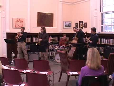 Jazz at The Library - Brad Ellenberg Quintet 'Rendezvous' (3/10)