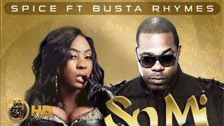 Spice Feat. Busta Rhymes - So Mi Like It (Remix) [Boom Box Riddim] March 2014