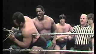 Tony Garea Rick Martel & SD Jones vs The Hangman Larry Sharpe & Johnny Rodz 2/2