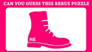 Can You Guess Fresh Visual Riddles Rebus & Word Puzzles | Brain Puzzle