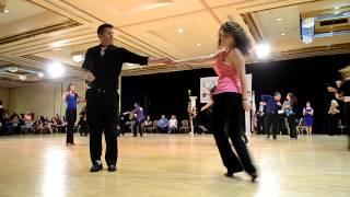 Brad Whelan and Tashina Beckmann Capital Swing 2013 Advanced Strictly