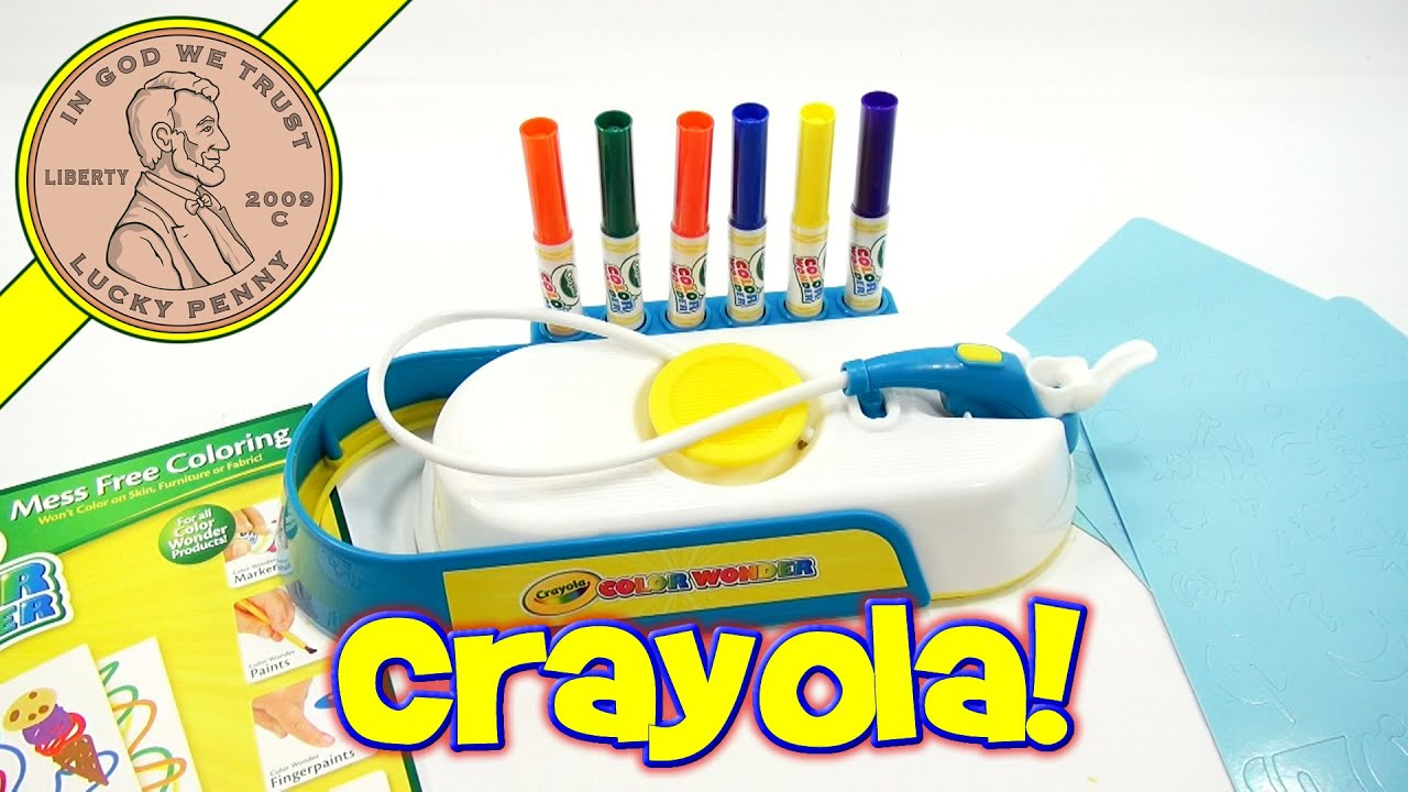 Sonstige Crayola Color Wonder Mess Free Airbrush
