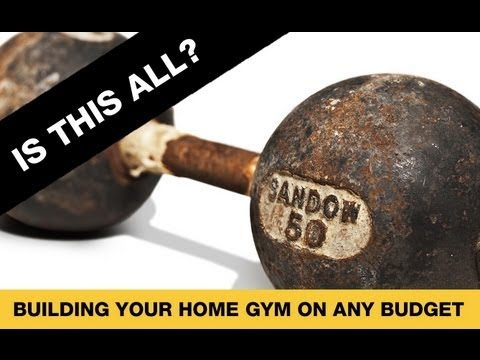 Best Home Gym Equipment (FOR ANY BUDGET!!)