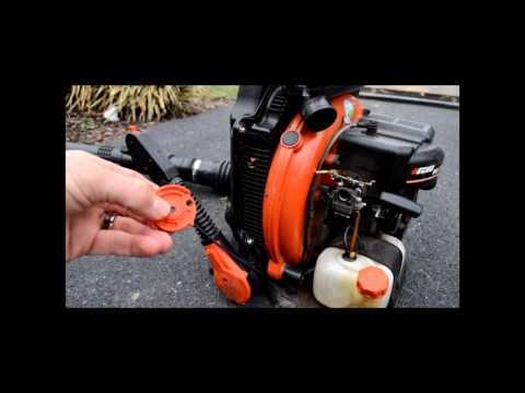 stihl leaf blower starting instructions
