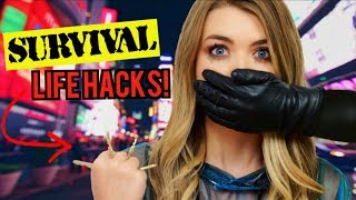 SURVIVAL LIFE HACKS THAT COULD SAVE YOUR LIFE TESTED!!!