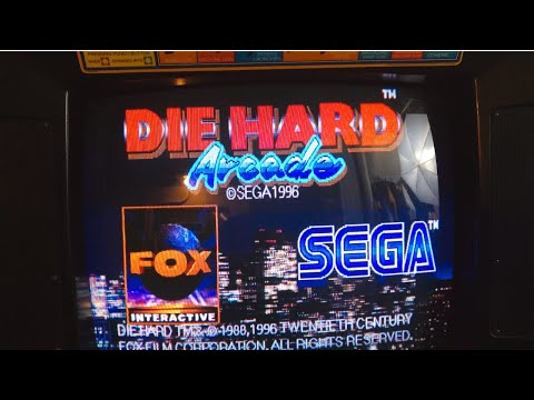 My Original Die Hard Arcade Cabinet - Gameplay, Artwork, and Details