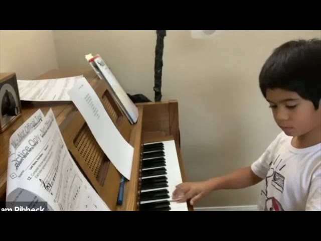Daniel's Suzuki Piano Book 1 Graduation Recital