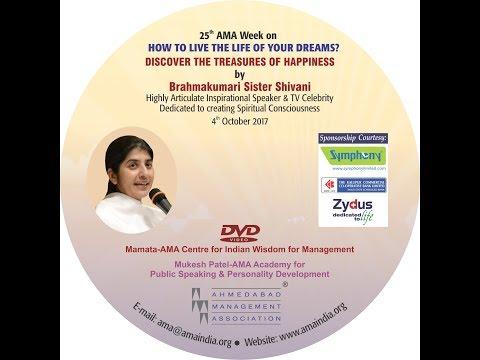 Discover the Treasures of Happiness by Brahmakumari Sister Shivani