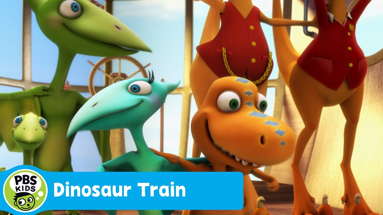 It is a graphic of Bright Dinosaur Train Pictures