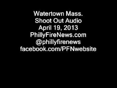 Police Audio of Watertown MA. Shootout 04/19/13