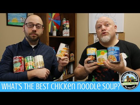 What's the Best Chicken Noodle Soup? | Canned Soup Blind Taste Test Rankings