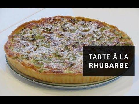 recette-de-la-tarte-à-la-rhubarbe-simple-et-rapide-|-fred-et-camille-cuisine