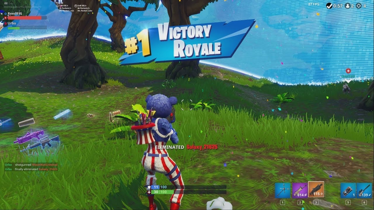 new victory royale ending animation fortnite season 5 - fortnite victory royale images