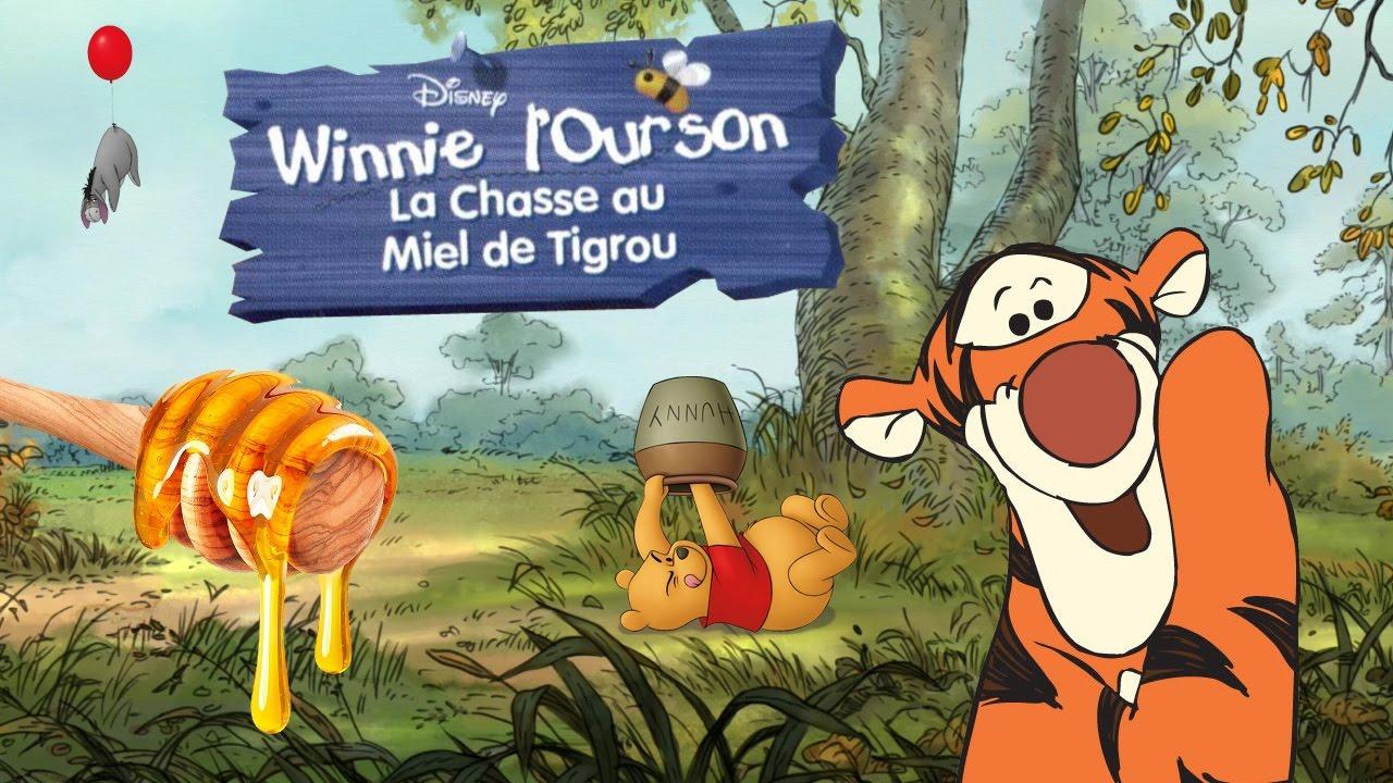 winnie lourson la chasse au miel de tigrou
