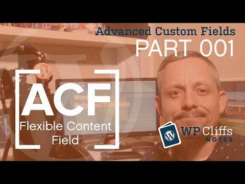 Building Custom Pages with ACF Flexible Content Field - Part 001