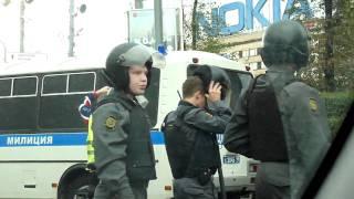 пушкинская: омон против защитников химкинского леса