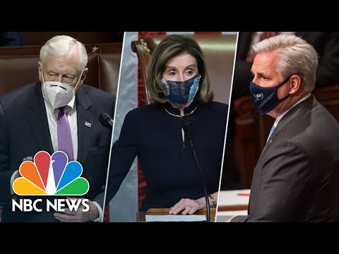 Watch: Highlights From Trump's Second Impeachment | NBC News NOW