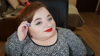 Makijaż - Prosta i efektowna kreska, rozświetlone oko i czerwone usta!