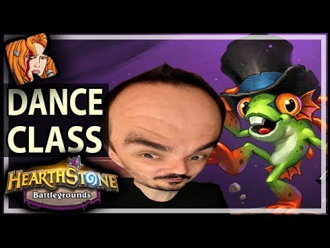 DANCE CLASS WITH KRIPP! - Hearthstone Battlegrounds